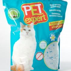 Nisip litiera pisici, Pet Expert, Silicat, 7.6 L