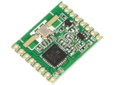 Modul: RF emiţător-receptor FM FSK 868MHz SPI 1,8÷3,6VDC SMD RFM69HW-868S2