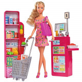 Cumpara ieftin Set Simba Steffi Love Supermarket cu papusa 29 cm si accesorii