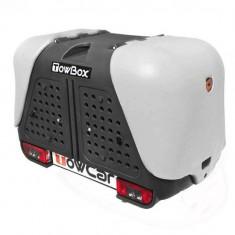 Cumpara ieftin Cutie portbagaj pe carligul de remorcare Towbox V2 DOG Gri