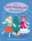 Cumpara ieftin Carte Usborne Sticker Dolly Dressing - Christmas, autor Leonie Pratt, 5 ani +