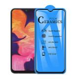 Folie Protectie Ecran OEM pentru Samsung Galaxy A10 A105 / Samsung Galaxy M10, Plastic, Full Face, Full Glue, 2.5D
