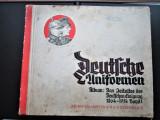Album reclame, cu carduri / cartonase Tigarete, 1933: Uniforme Militare