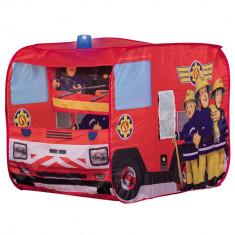 Cort de joaca John Fireman Sam Fire Truck Sam cu girofar 100x70x75 cm
