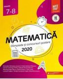 Matematica. Olimpiade si concursuri scolare 2020. Clasele 7-8/***