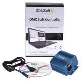Controller DMX, 512 canale, mod autonom 132 canale, cititor CD, carcasa aluminiu