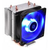 Cumpara ieftin Cooler CPU ID-Cooling SE-913-B Blue, Multi socket, Iluminare LED