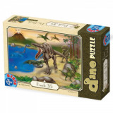 Puzzle Dinozauri 35 piese, D-Toys