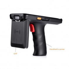 Cititor coduri de bare UHF 2D, Android, PDA slot SIM, 9 MP Jack 3.5 mm, pistol
