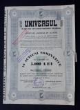 Actiuni 1940 - Ziarul Universul - titlu - actiune