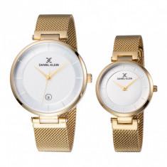 Set ceasuri pentru dama si barbati, Daniel Klein Pair, DK11917-3