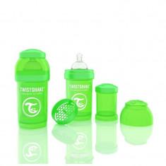 Biberon Anti colici 180 ml Twistshake Verde