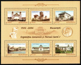 Romania 2006, LP 1724 a, Expozitia Generala 1906, bloc de 6, MNH!, Istorie, Nestampilat