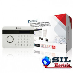 Sistem alarma wireless PSTN/GSM, Konig