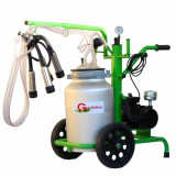 Aparat de Muls 1 post 40 l aluminiu cu pahare inox fara tanc-A18000501