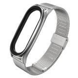 Curea otel inoxidabil Tech-Protect Milaneseband Xiaomi Mi Band 5 Silver