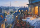 Puzzle Schmidt - 1000 de piese - Evgeny Lushpin : A ROMANTIC EVENING IN PARIS