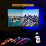 Kit banda LED RGB Lumina ambientala TV, Monitor, Mobilier AMBI44 5V