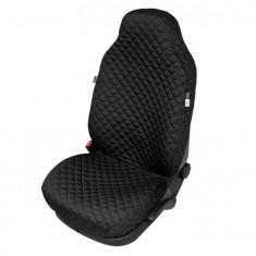 Husa scaun auto COMFORT pentru Audi A2, culoare negru, bumbac + polyester