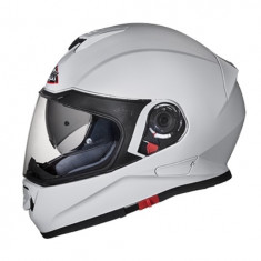 Casca inchisa SMK TWISTER Alb GL100 culoare alb marimea L