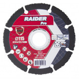 Cumpara ieftin Disc taiere multi-suprafata Raider, 115 x 22.2 mm