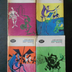 Cervantes - Don Quijote 4 volume