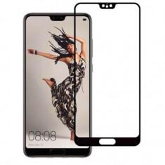 Folie sticla Huawei P20 Lite 3D Neagra Koracell