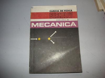 Cursul de fizica Berkeley - vol.1 - Mecanica foto