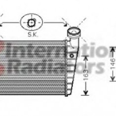 Radiator intercooler SKODA SUPERB I (3U4) (2001 - 2008) VAN WEZEL 58004216