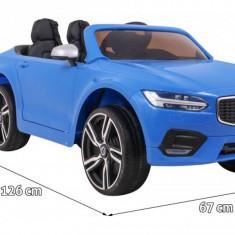 Masinuta electrica Volvo S90, albastru