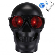 Boxa portabila craniu, cu radio, lumini si functie bluetooth, excelent sunet si design - CHM29