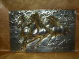 Tablou argint 925, cai in relief, colectie, cadou, vintage