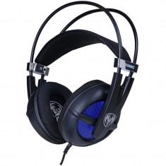 Casti Gaming Somic P6 Black, Stereo, Difuzoare 40mm