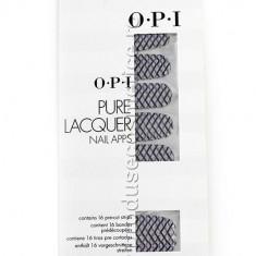 Pachet 16 Abtibilduri Pentru Unghii OPI Pure Lacquer Zig Zag Sparkle
