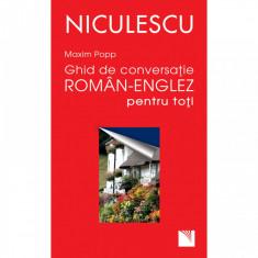 Ghid de conversatie roman - englez pentru toti - Maxim Popp