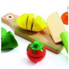 Fructe și legume de feliat, Djeco