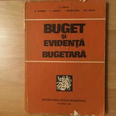 Buget și evidentă bugetară/colectiv/1981