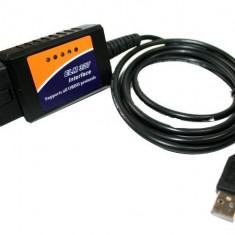 Interfata diagnoza auto OBD2 USB, cu Cip ELM V1.5