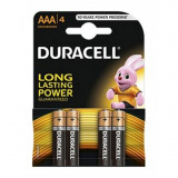 Duracell Basic LR03 / AAA / R03 / MN 2400 1.5V baterii alcaline Conținutul pachetului 1x Blister