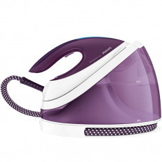 Statie de calcat Philips PerfectCare Viva GC7051/30, 2400 W, SteamGlide Plus, Mov