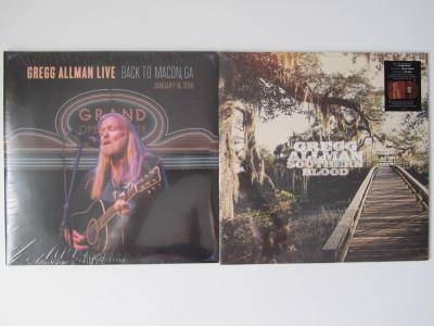 2 Gregg Allman Disc-Discuri LP Lot-Colectie Vinyl-Vinil Rock-Folk-Country NOU foto
