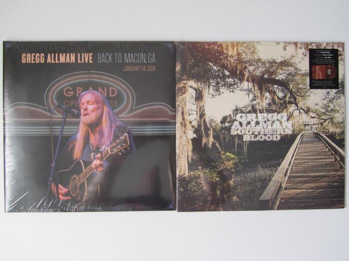 2 Gregg Allman Disc-Discuri LP Lot-Colectie Vinyl-Vinil Rock-Folk-Country NOU