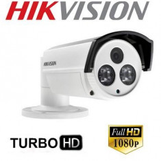 Camera Supraveghere Exterior Turbo Full-HD Hikvision IR80m