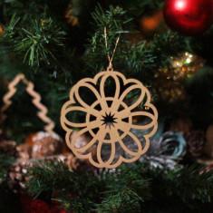 Ornament Brad - Floare de Gheata