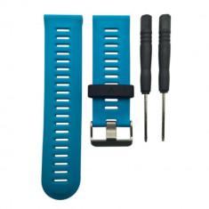 Curea din silicon albastra V2 pentru Garmin Fenix 3 CellPro Secure