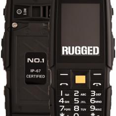 """Telefon Dual SIM NO.1 A9, Ecran LCD 2.4"""", Acumulator 4800 mAh, Negru"""
