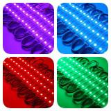 Modul Grup 3 Led RGB 5050 - 20 Buc/Set , RGB -Multicolor
