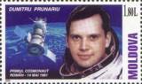 MOLDOVA 2001, Cosmos - Dumitru Prunariu, serie neuzată, MNH