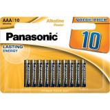 Baterii Panasonic Alkaline Power Bronze LR03/AAA 10 bucati
