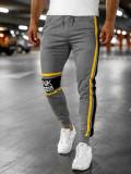 Pantaloni de trening joggers gri Bolf HX931